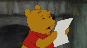Pooh bear doesn't understand this episode